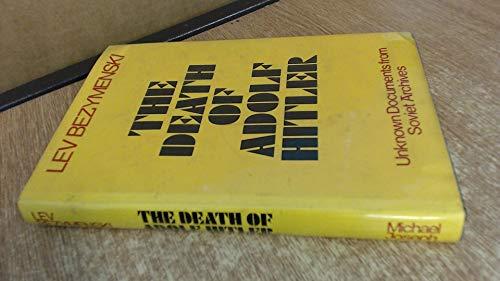 9780718106348: The Death of Adolf Hitler