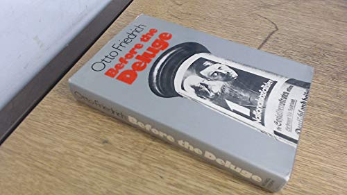 9780718111991: Before the Deluge: Portrait of Berlin in the 1920s