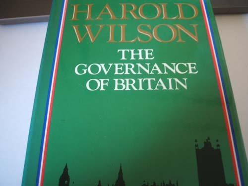 THE GOVERNANCE OF BRITAIN