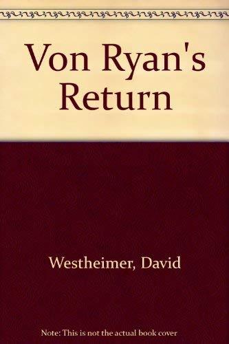 9780718118716: Von Ryan's Return