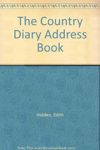 9780718136468: The Country Diary Address Book