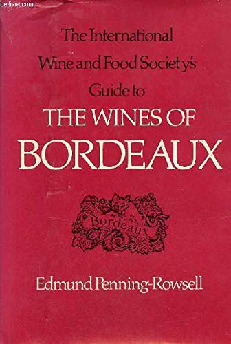Wines of Bordeaux (Wainwright): Penning-Rowsell, Edmund
