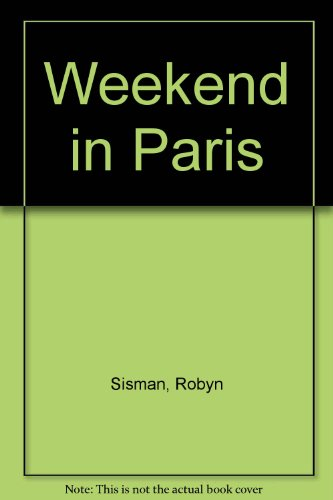 9780718147372: Weekend in Paris