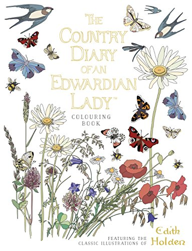 9780718185428: The Country Diary of an Edwardian Lady Colouring Book