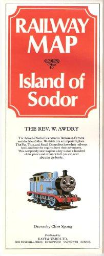 9780718208417: Railway Map of the Island of Sodor