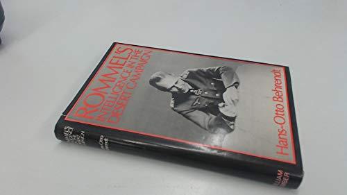 9780718305154: Rommel's Intelligence in the Desert Campaign 1941-1943