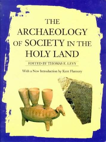 9780718501655: The Archaeology of Society in the Holy Land
