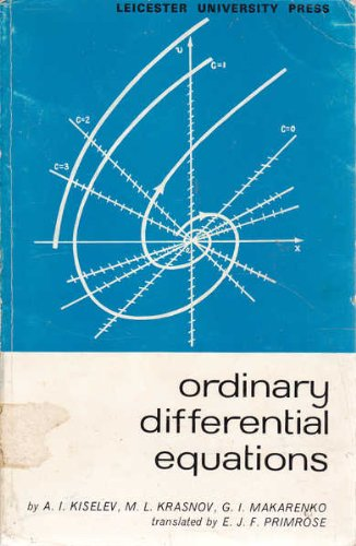 Ordinary Differential Equations: Kiselev, A.I., etc.