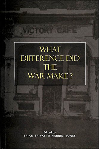 9780718522636: What Difference Did the War Make?
