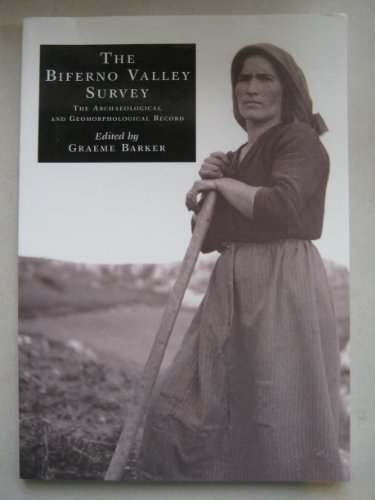 9780718523756: The Biferno Valley Survey: The Archaeological and Geomorphological Record