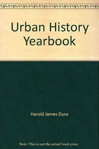 Urban History Yearbook: Harold James Dyos
