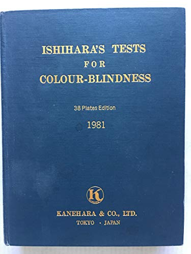 9780718600808: Ishihara's Tests for Colour Deficiency: Complete 38 plate edition