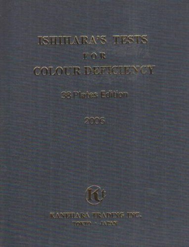 9780718603267: Ishihara's Tests for Colour Blindness: 10 Plate Edition for Infants (10 Plates)