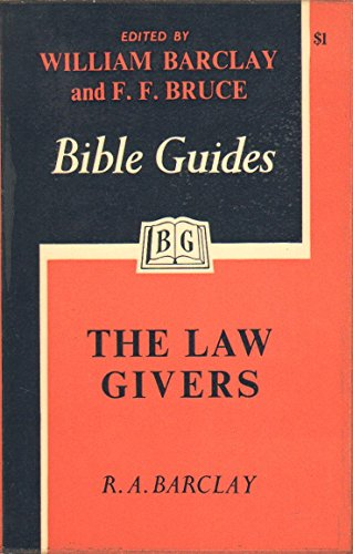 9780718800581: Law Givers (Bible Guides)