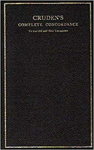 9780718802042: Cruden's Complete Concordance to the Old and New Testaments: Rexine Binding (Concordances)