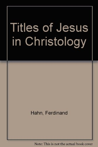 9780718805722: Titles of Jesus in Christology