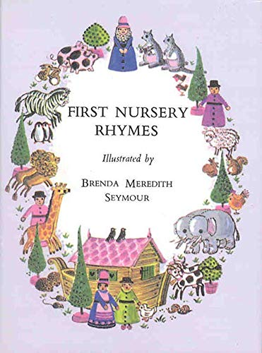 9780718815271: First Nursery Rhymes (First Books (Lutterworth))