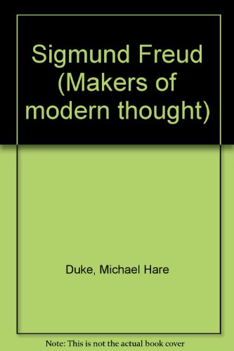 9780718818531: Sigmund Freud (Makers of Modern Thought)