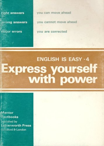 9780718820350: English is Easy: Express Yourself with Power