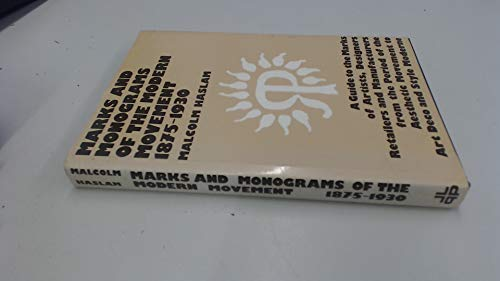 Marks and Monograms on European and Oriental: Haslam, Malcolm