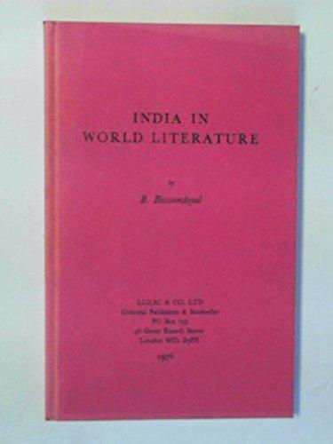India in World Literature: B Bissoondoyal
