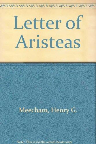 9780719001055: Letter of Aristeas