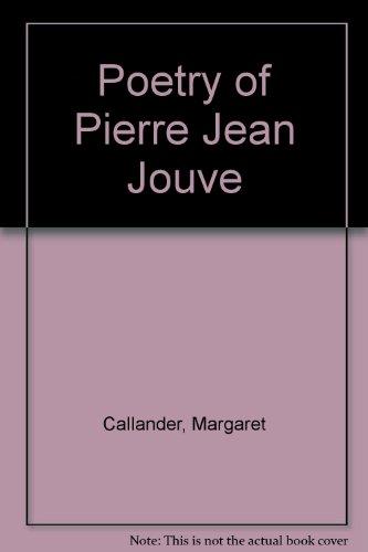 9780719001680: Poetry of Pierre Jean Jouve