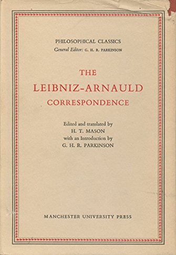 9780719003189: The Leibniz-Arnauld Correspondence