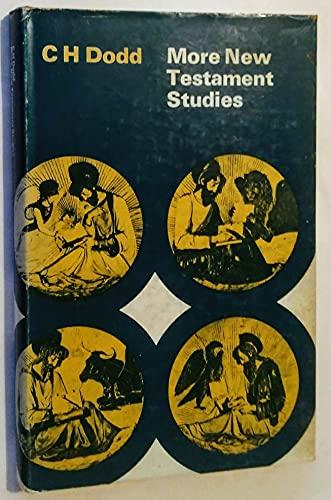 9780719003332: More New Testament Studies