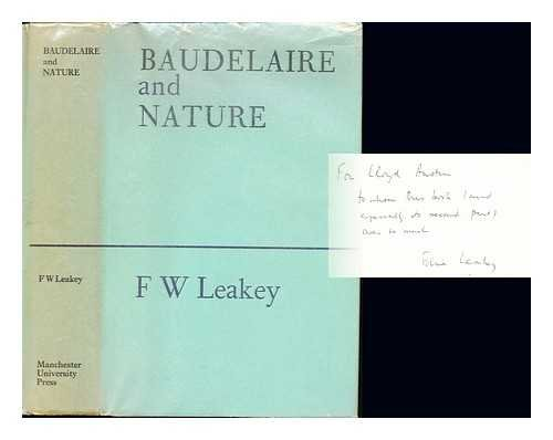 9780719003455: Baudelaire and Nature
