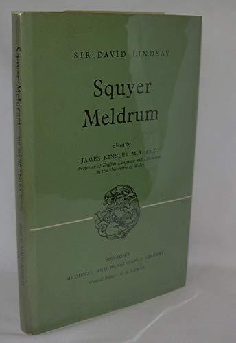 9780719004940: Squyer Meldrum