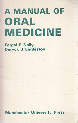 9780719005190: Manual for Oral Medicine
