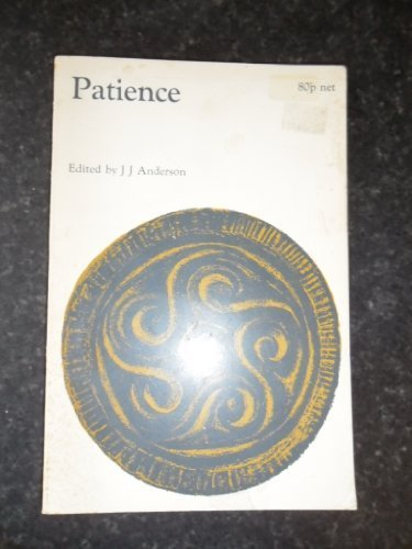 9780719005282: Patience (Old & Middle English Texts)