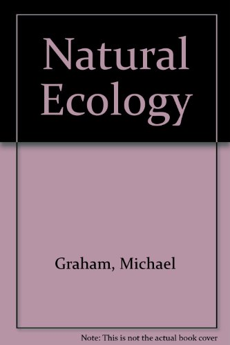 9780719005299: Natural Ecology