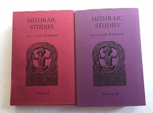 9780719005367: Mithraic Studies
