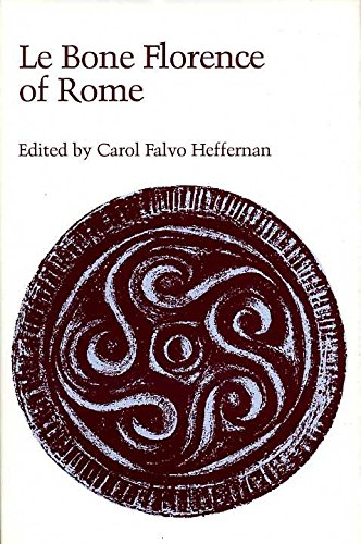 9780719006470: Bone Florence of Rome (Old & Middle English Texts)