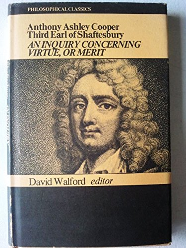 9780719006579: Inquiry Concerning Virtue, or Merit (Philosophy Classics)