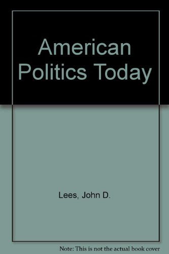 9780719008955: American Politics Today
