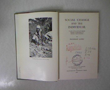 Social Change and the Individual: Norman Long