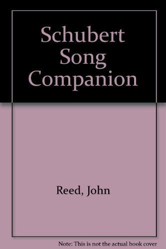 9780719010934: Schubert Song Companion