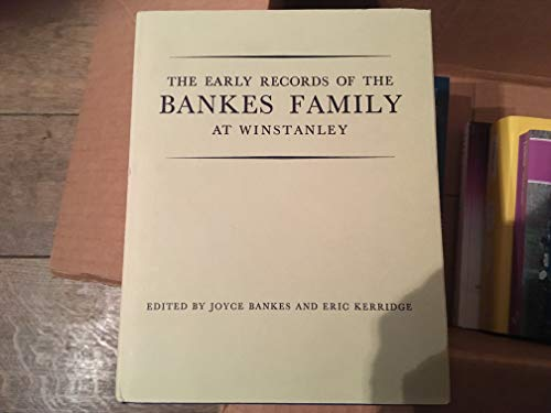 Early Records of the Bankes Family at: n/a