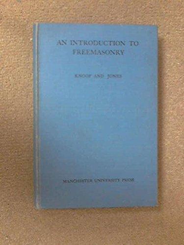 9780719012020: An Introduction to Freemasonry