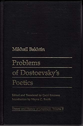 9780719014581: Problems of Dostoevsky's Poetics