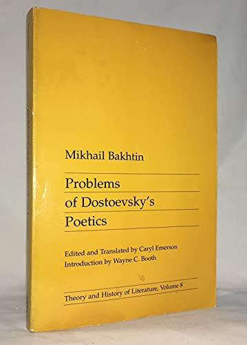 9780719014598: Problems of Dostoevsky's Poetics