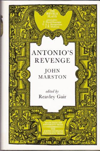 9780719015014: Antonio's Revenge: John Marston
