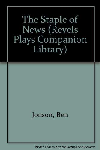 9780719015434: The Staple of News (Revels Plays Companion Library)