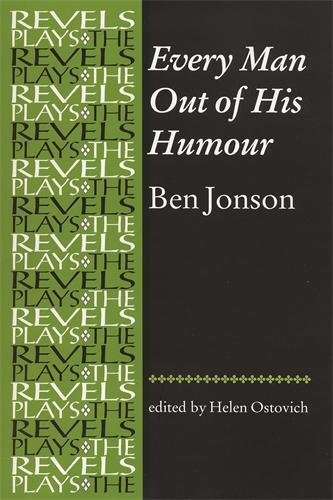 9780719015588: Every Man Out of His Humour (The Revels Plays)