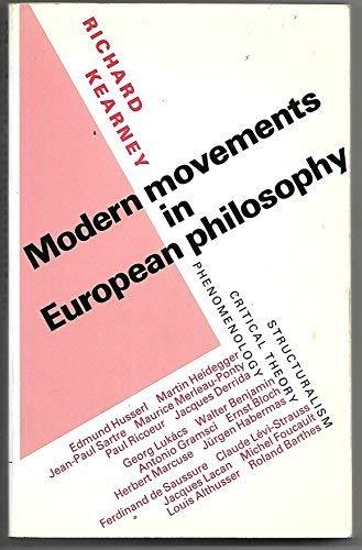 9780719017469: Modern Movements in European Philosophy