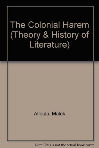 9780719019074: The Colonial Harem (Theory & History of Literature)