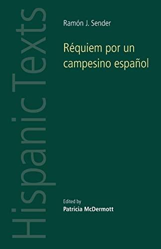 9780719032226: Réquiem por un Campesino Español (Hispanic Texts MUP)